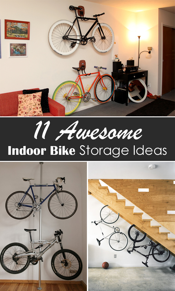 11 awesome indoor bike storage ideas 18 cool indoor bike storage racks for your walls