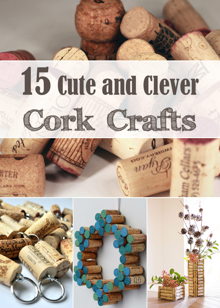 Diy Wine Corks 15 Cute And Clever Cork Crafts