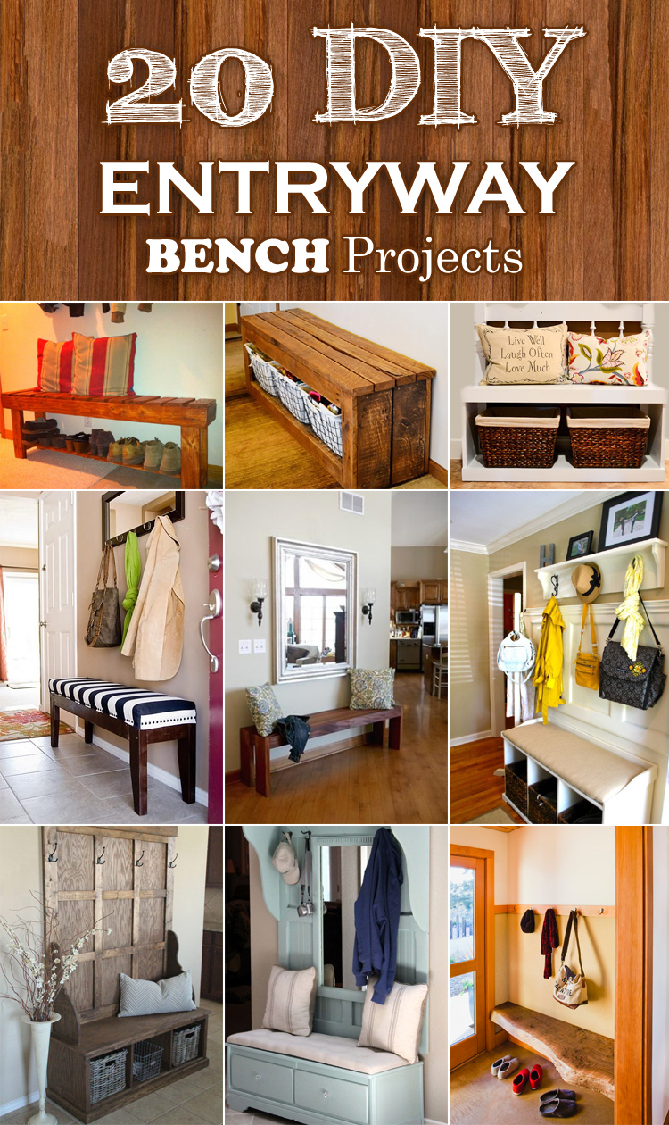 Ideas For Benches Part - 39: Cool DIY Ideas