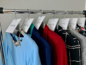 Make morning routines easier by organizing a week's worth of outfits by placing hanging tags on hangers.
