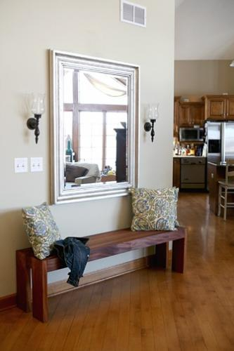 Modern Foyer Seating : Interesting diy entryway benches ideas
