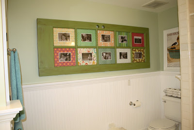 Old Door Into a Picture Frame