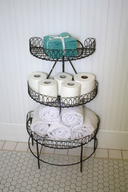 16 practical and creative toilet paper storage ideas - Ways to decorate bathroom ...