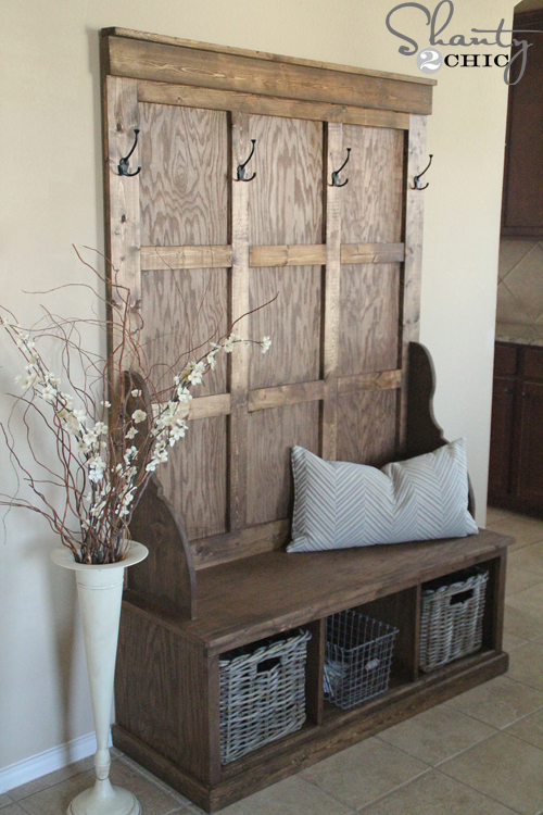 Foyer Bench Diy : Interesting diy entryway benches ideas