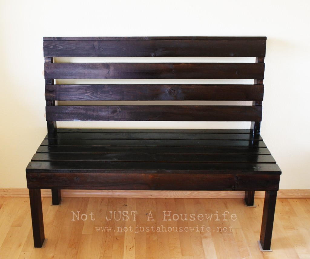Simple Entryway Bench