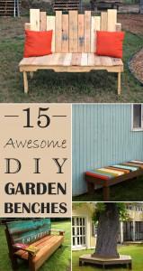 Diy Garden Benches Archives Cool Diy Ideas