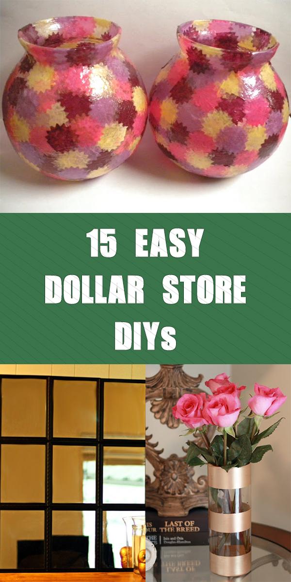 15 Easy Dollar Store DIYs