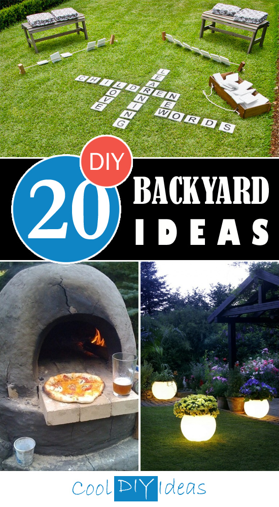 20 Awesome DIY Backyard Ideas That Will Make Your ...