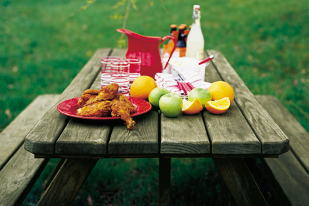 Classic American Picnic Table