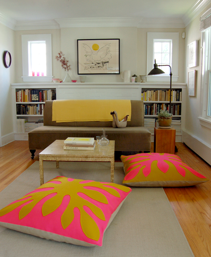 Hawaiian Style Felt Floor Pillows15 Easy DIY Floor Cushions. Easy Diy Floor Pillows. Home Design Ideas