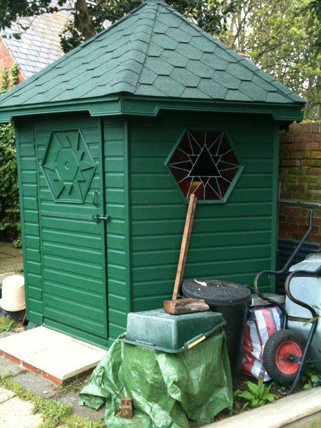 Hexagonal Garden shed