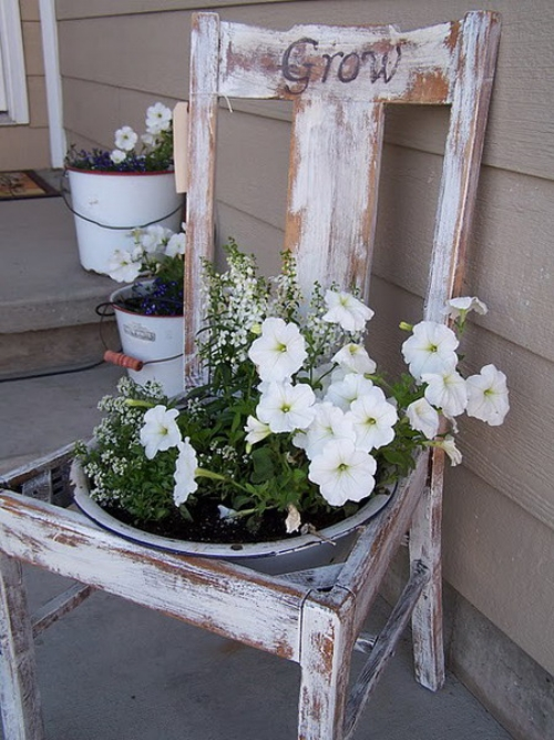 22 Incredible Ideas How To Turn Old Things Into Beautiful Flower Pots And Planters