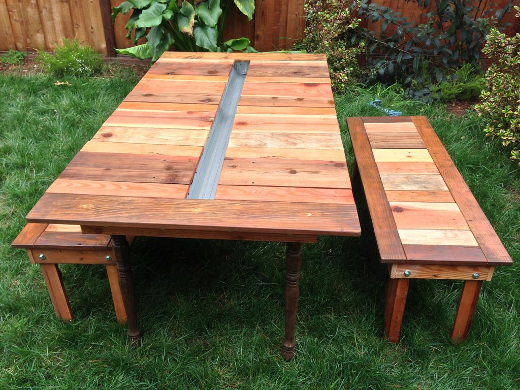 FREE Picnic Table Plans - Pentagon picnic table