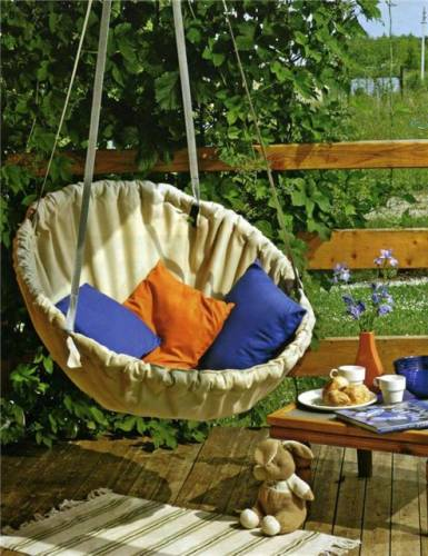 12 Creative Diy Hanging Chairs Projects