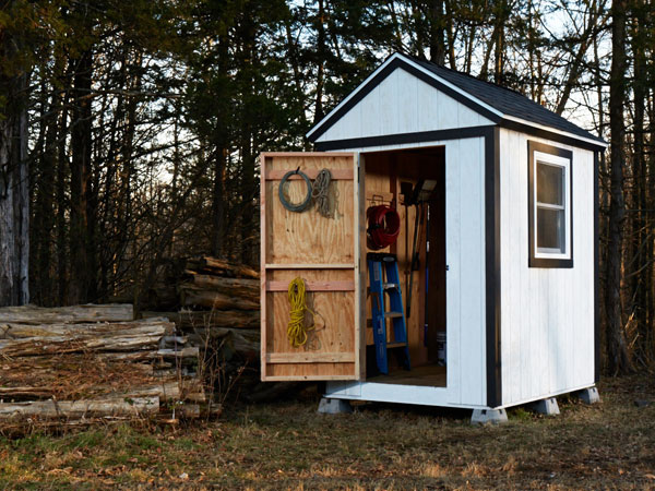 Simple Shed From Scratch