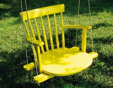 Turn old rocking chair into a cool and stylish kids swing for your ...