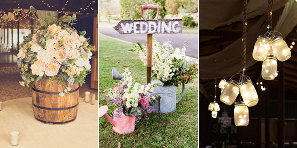 18 stunning diy rustic wedding decorations junglespirit Images