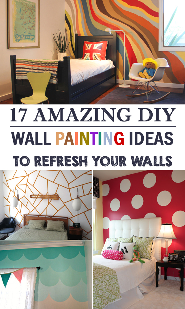 High Quality 17 Amazing DIY Wall Painting Ideas To Refresh Your Walls
