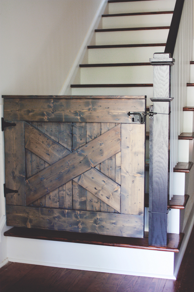 Barn Door Baby Gate : stair door - pezcame.com