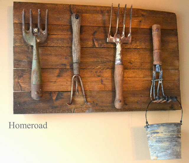 Great Wall Hook Display from Vintage Hand Tools