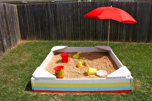 Make a Backyard Sandbox