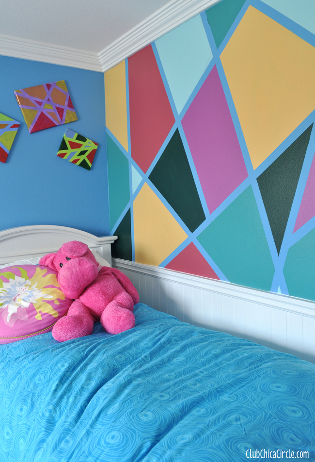 17 amazing diy wall painting ideas to refresh your walls for Cool wall patterns