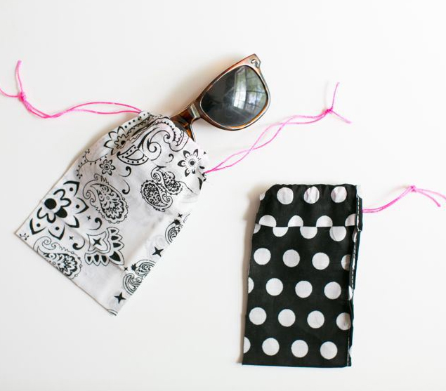 No Sew Bandana Sunglasses Case