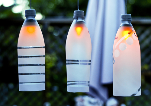 Plastic Bottle Lighting