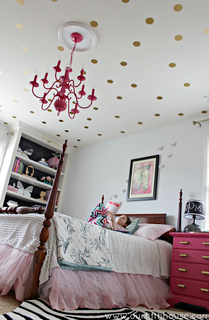 Polka Dotted Ceiling