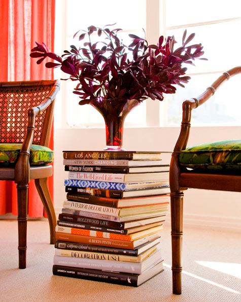 Stack Books for a Side Table