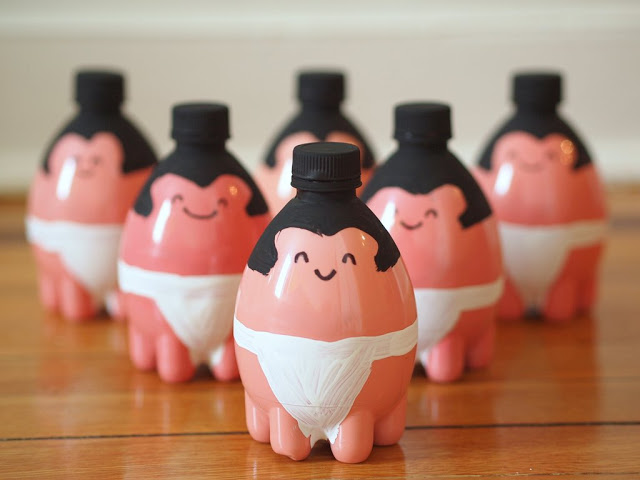 Sumo Plastic Bottle Bowling Pins