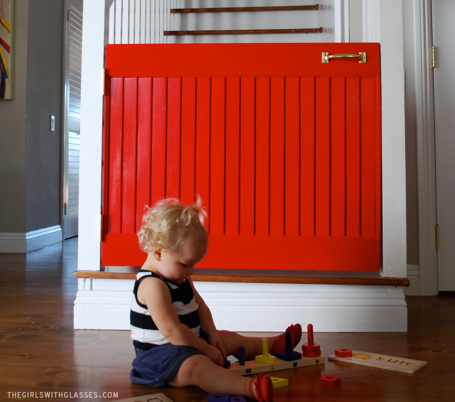 The Little Red Door  Baby Gate