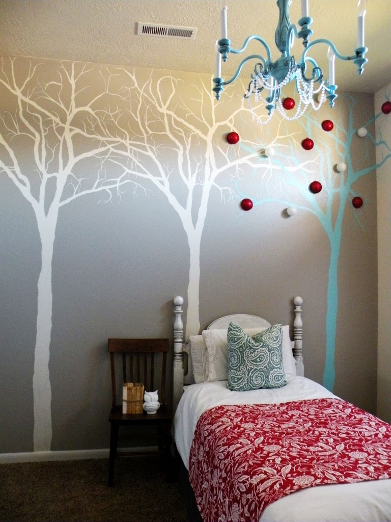 17 amazing diy wall painting ideas to refresh your walls for Diy wall mural ideas