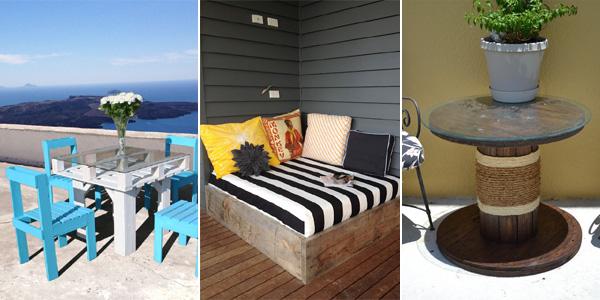 Cool Diy Backyard Ideas : 15 Insanely Cool DIY Backyard Furniture Projects