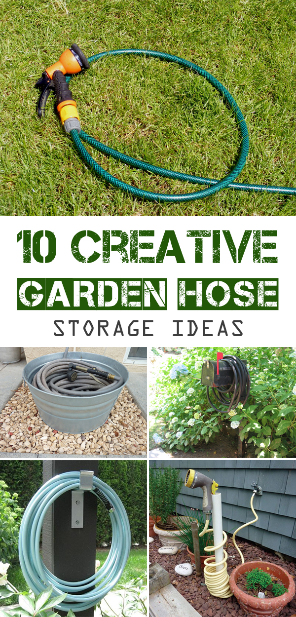 Creative Garden Hose Storage Ideas