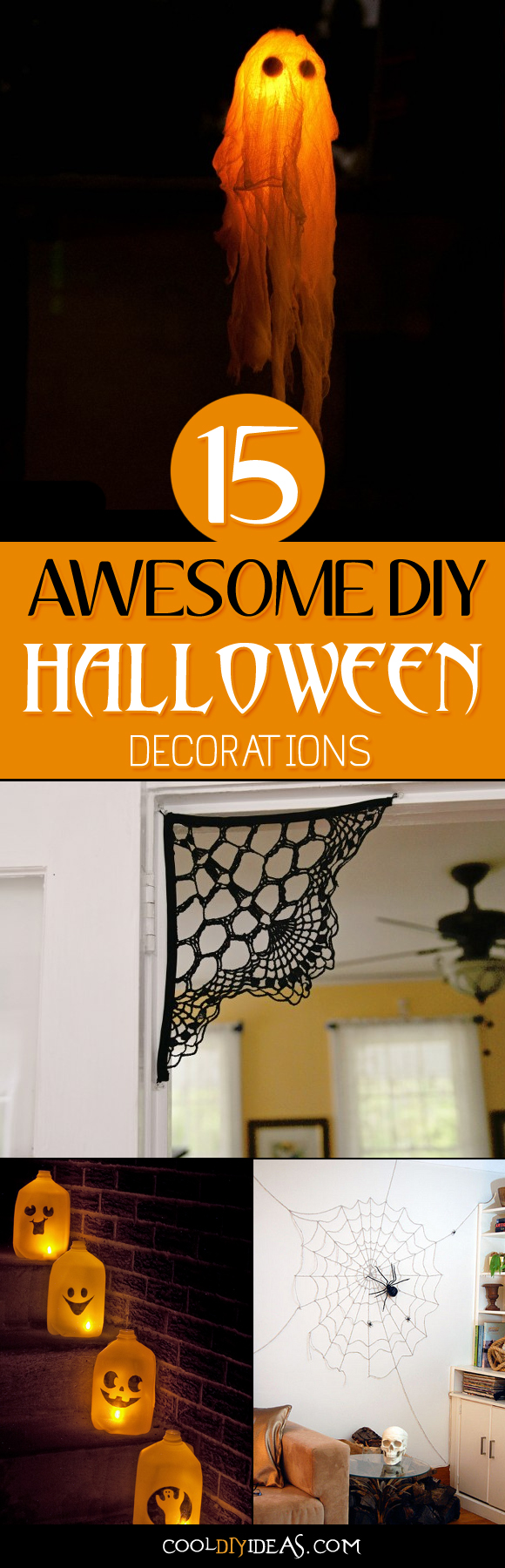 15 Awesome DIY Halloween Decorations That The Adults and Kids Will Love