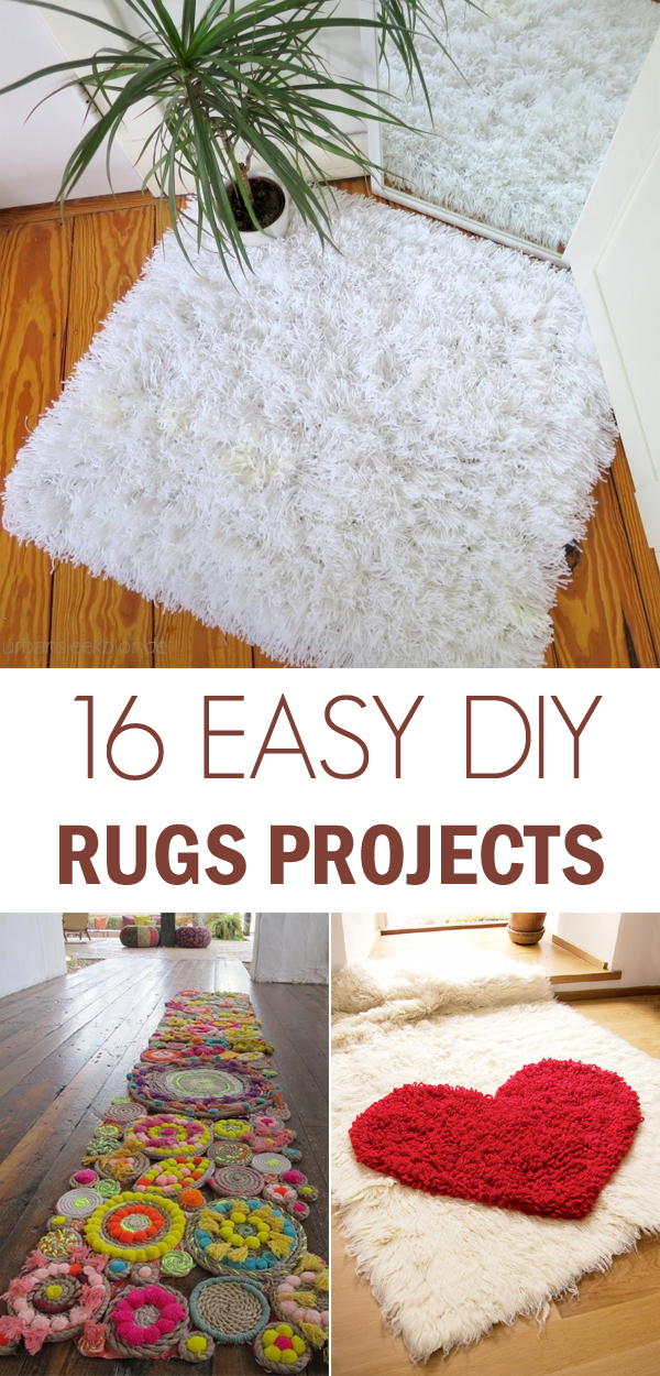 16 Awesome DIY Rugs to Brighten up Your Home