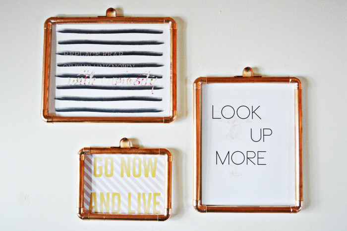Copper Frames