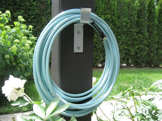 Garden Hose Storage Ideas garden hose holder Inexpensive Garden Hose Hook