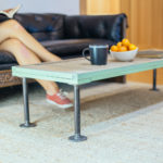 Transform a Shutter into an Industrial Coffee Table