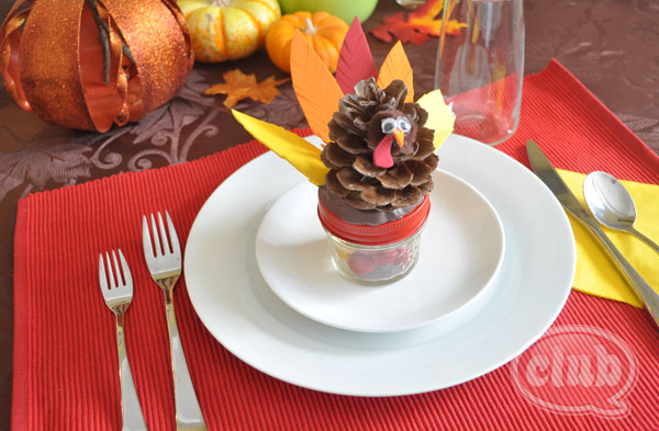 Turkey Candy Jars
