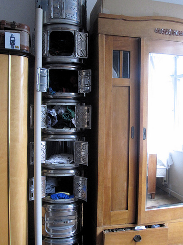 Washing Machine Drum Storage
