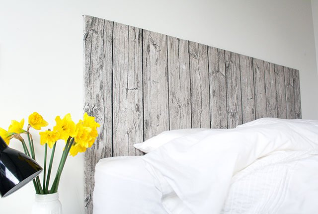 Wood Fabric Headboard