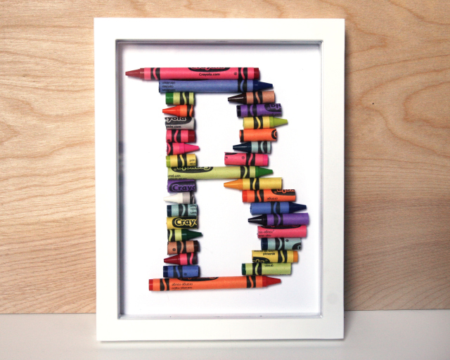 crayon alphabet letter wonderful idea