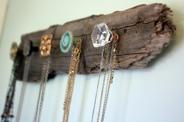 Driftwood Necklace Holder