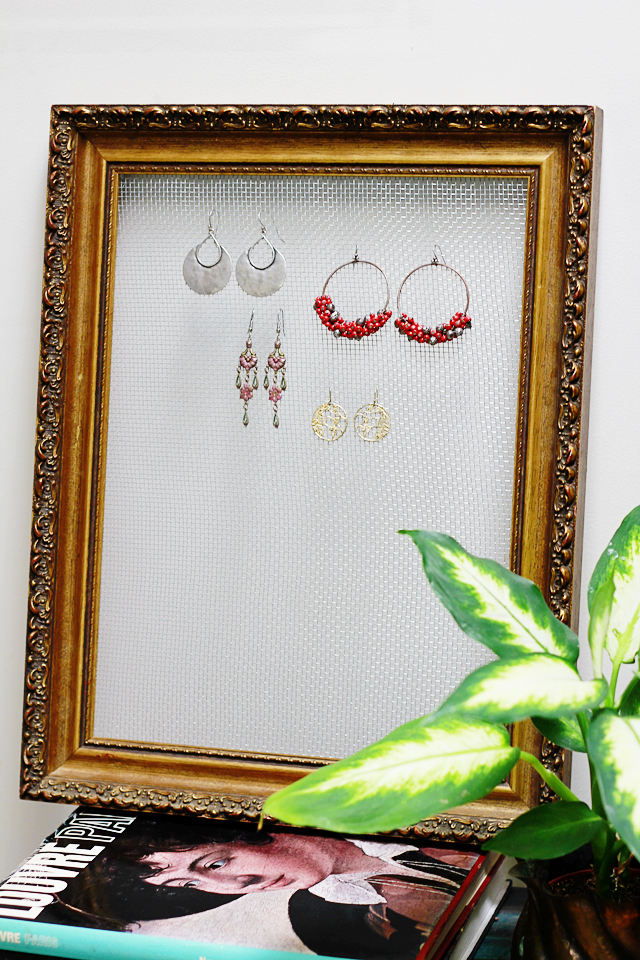 Framed Jewelry Displays