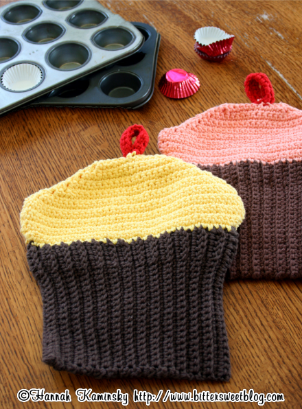 Crocheted Cupcake Potholders