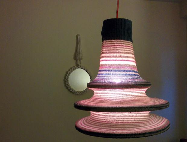The Sweater Lamp