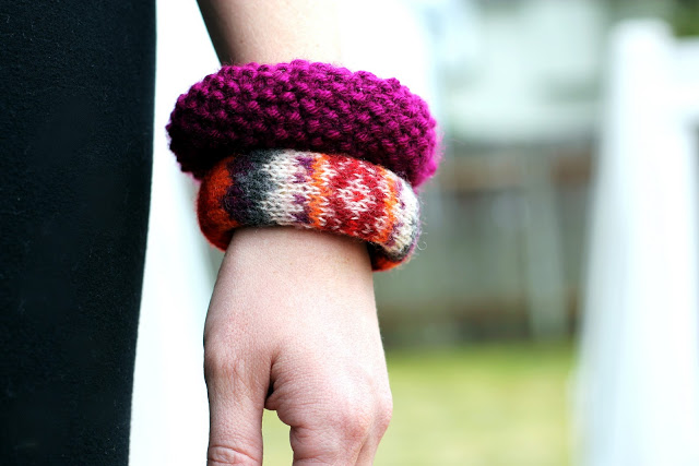 sweater bangle