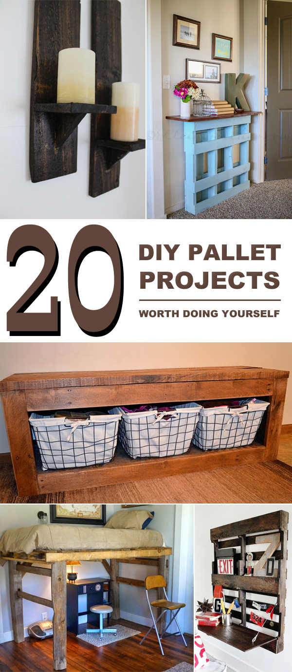 20 DIY Pallet Projects Worth Doing Yourself